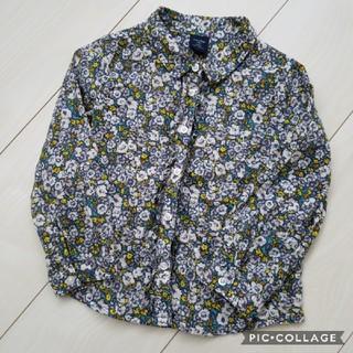 babyGAP - ☆美品☆ ベビーギャップ シャツ 長袖 花柄 95 ブラウス