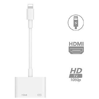 iPhone hdmi変換アダプター