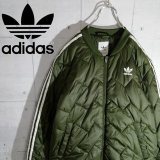 adidas - adidas/スーパースター【3本ライン】キルティングジャケット/ブルゾン