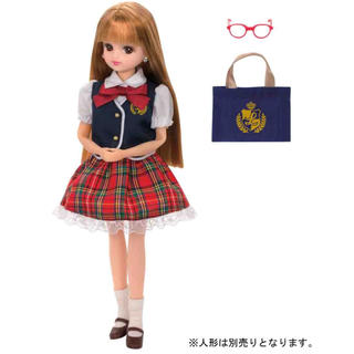 タカラトミー(Takara Tomy)のリカちゃん かわいいせいふくセット(ぬいぐるみ/人形)