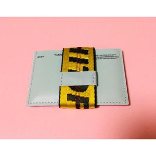 オフホワイト(OFF-WHITE)のOFF-WHITE ABLOH MINT CARD HOLDER(名刺入れ/定期入れ)