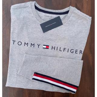 トミーヒルフィガー(TOMMY HILFIGER)の新品トミーヒルフィガー 長袖TシャツXL(Tシャツ/カットソー(七分/長袖))
