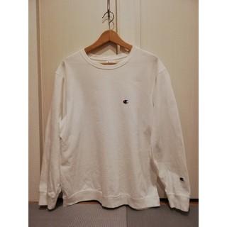 アーバンリサーチ(URBAN RESEARCH)のChampion アーバンリサーチドアーズ 別注ロングスリーブTシャツ ホワイト(Tシャツ/カットソー(七分/長袖))