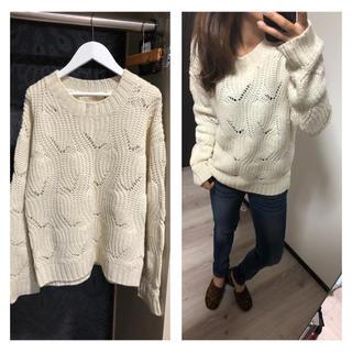 Avan Lily - AvanLily★ ニット セーター ホワイト