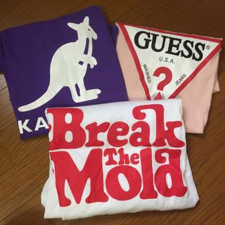 ゲス(GUESS)のTシャツ三枚組 break the mold kangol guess(Tシャツ(半袖/袖なし))