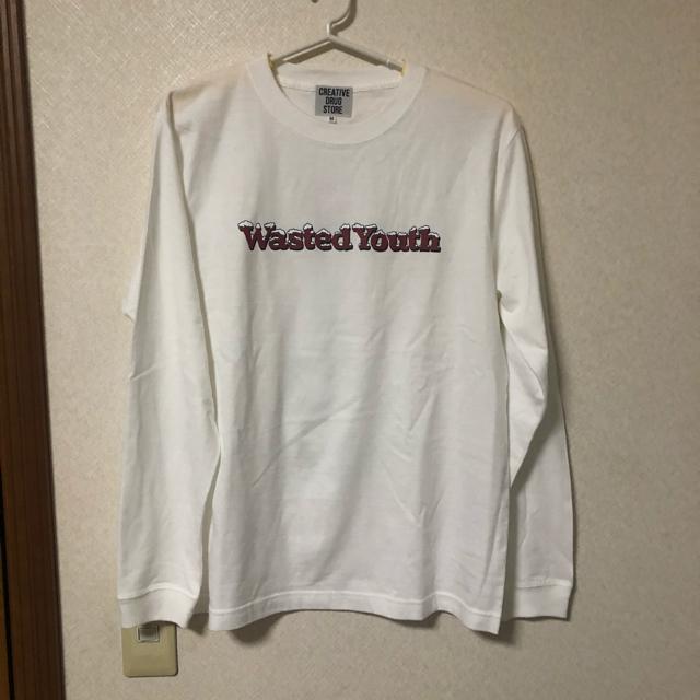 GDC(ジーディーシー)のWasted Youth ロンt M サイズ 最安値 メンズのトップス(Tシャツ/カットソー(七分/長袖))の商品写真