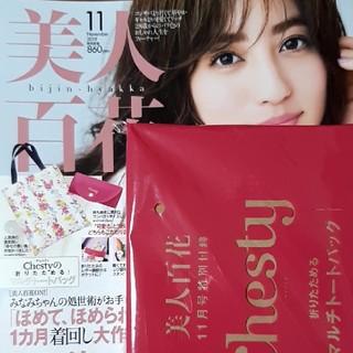 Chesty - 【新品未使用】★美人百花11月号 付録