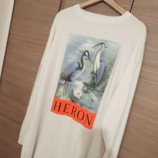「確実正規品」HERON PRESTON ヘロンプレストン ロンT(Tシャツ/カットソー(七分/長袖))