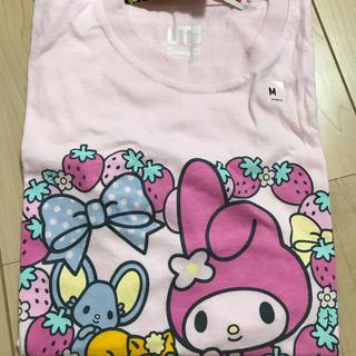 UNIQLO - ユニクロ マイメロ   マイメロディ ピンク Tシャツ
