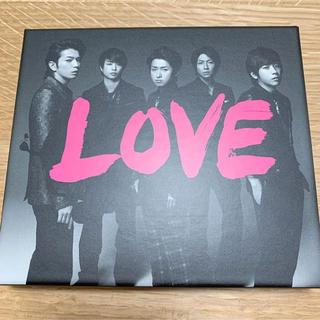 嵐 LOVE 初回限定盤 CD+DVD
