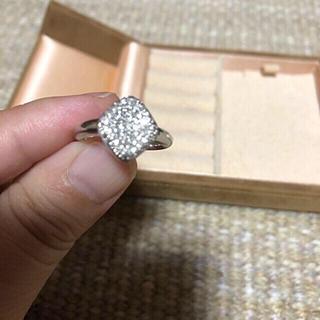 K18  WG ダイヤモンドリング