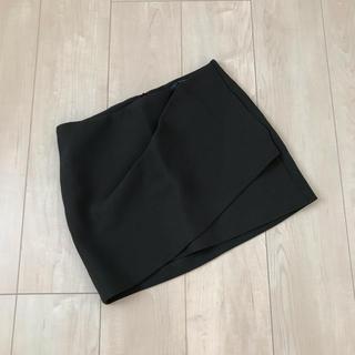 ZARA - 【美品】ZARA◆スリットデザインミニスカート