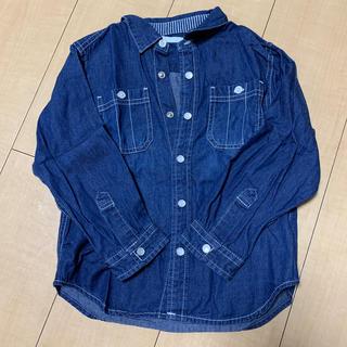 GU - GU デニム風シャツ 110