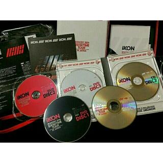 アイコン(iKON)のikon💗2016SHOWTIME DVD5枚組初回限定バビジナン未再生(ミュージック)