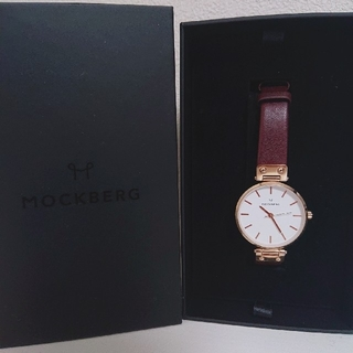 モックバーグ   MOCBERG 腕時計 レディース 茶色 ♡