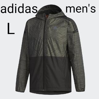 アディダス(adidas)の新品★アディダス 24/7 ウインドパーカー ウィンドパーカー★裏起毛★Lサイズ(ナイロンジャケット)