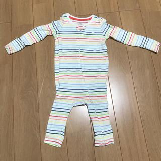 ベビーギャップ(babyGAP)の長袖 ロンパース サイズ70(ロンパース)