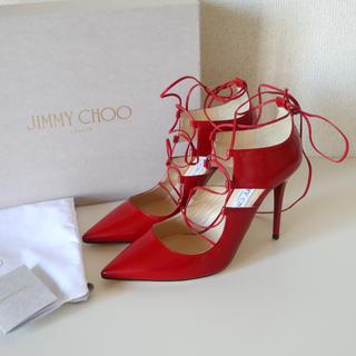 JIMMY CHOO - レースアップ  パンプス