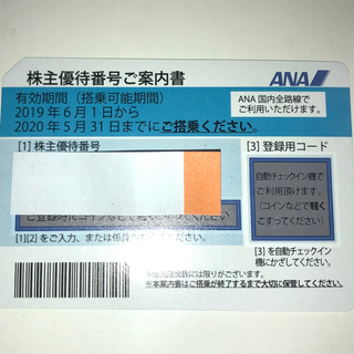 ANA(全日本空輸) - ANA 株主優待 全日空
