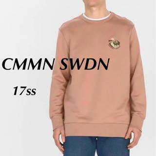 【美品】CMMN SWDN 17ss  MARKET RODEOスウェット(スウェット)