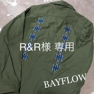 ベイフロー(BAYFLOW)のBAYFLOW❁オルテガ刺繍ブルゾン  Mサイズ(ブルゾン)