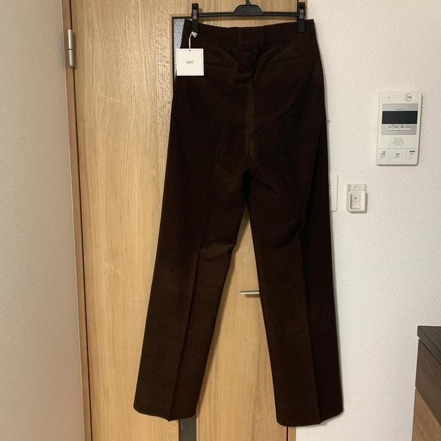 COMOLI(コモリ)のO様専用 NEAT コーデュロイパンツ  ブラウン 新品未使用 メンズのパンツ(スラックス)の商品写真