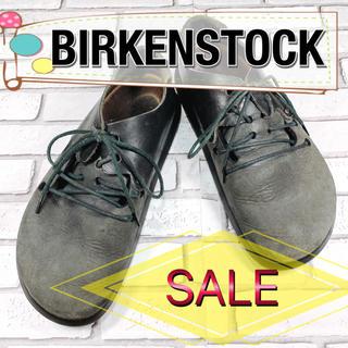 ビルケンシュトック(BIRKENSTOCK)の【SALE】BIRKENSTOCK ビルケンシュトック 灰 グレー 黒 ブラック(サンダル)