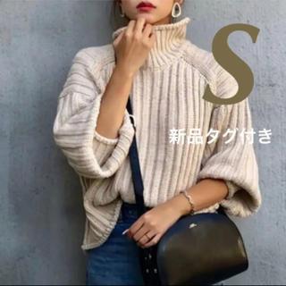 H&M - H&M✨新品タグ付き❣️完売 チャンキーニット ベージュ Sサイズ