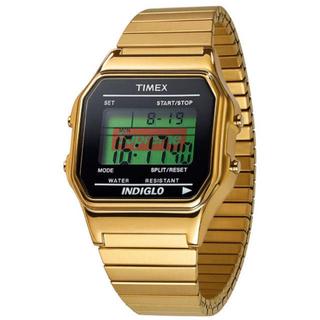 Supreme - supreme timex digital watch gold ゴールド 時計