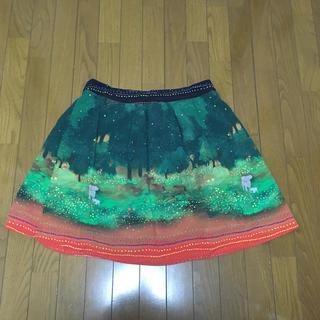 フランシュリッペ(franche lippee)のfranche lippee 森 アニマル スカート 5L(ひざ丈スカート)