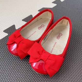 ギャップ(GAP)の【在庫処分SALE】フォーマルシューズ 女の子 赤 12.5cm(フォーマルシューズ)