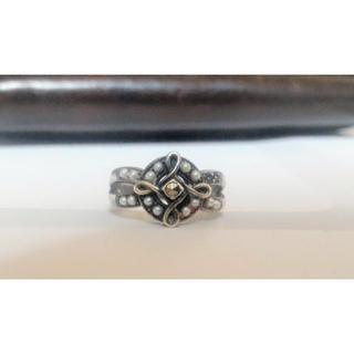 ティファニー(Tiffany & Co.)の碌山 ベビーパール 925 約10号 指輪 リング シルバー(リング(指輪))