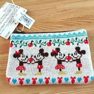 Disney - ミッキー&ミニーのティッシュポーチ