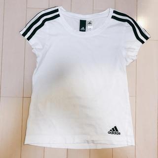 アディダス(adidas)のアディダス Tシャツ 3本ライン(Tシャツ/カットソー)