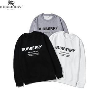 BURBERRY - 即購入 BURBERRY  新品 長袖 丸首 男女兼用  秋 パーカー