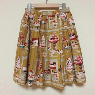 ジェーンマープル(JaneMarple)のJane Marple♡Sweets in the Palace スカート(ひざ丈スカート)