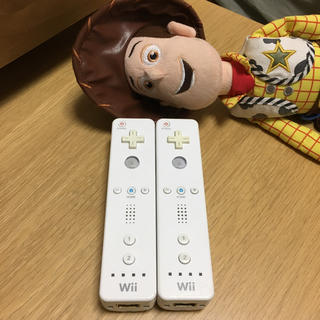 ウィー(Wii)のWiiリモコン 2本セット(その他)