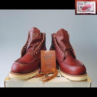 レッドウィング(REDWING)の新品デッド8131アイリッシュセッター8875刺繍羽タグ犬タグ875 8166(ブーツ)