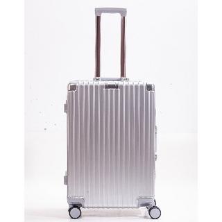 【じゃがりこ様専用】スーツケースC シルバー Mサイズ