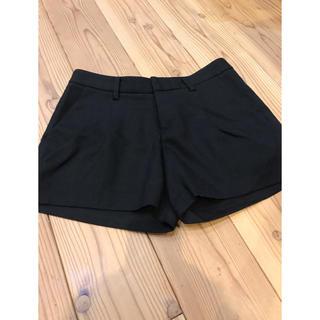 ユニクロ(UNIQLO)のユニクロ ショートパンツ 黒 58cm(ショートパンツ)