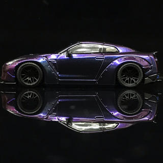 日産 - 1/64 LB★WORKS Nissan R35 Magic Purple