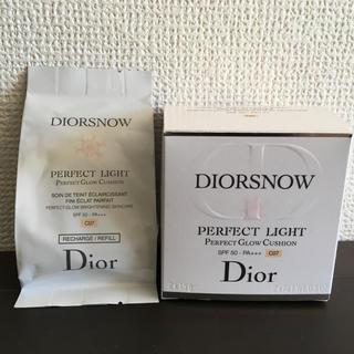 ディオール(Dior)のスノー パーフェクトライト リフィルc07(ファンデーション)