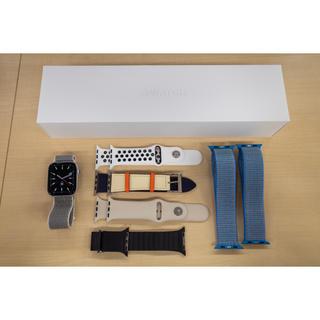 Apple Watch - おまけ多数 Apple Watch 4 Silver Aluminum 44mm