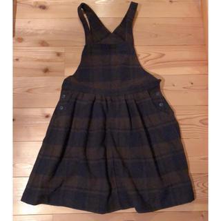 サマンサモスモス(SM2)のSM2 オーバーオールスカート(サロペット/オーバーオール)