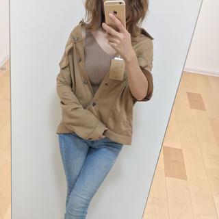 しまむら - 新品しまむら♡完売品♡フェイクスエード♡ゆるシルエット♡ブルゾン♡