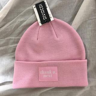 H&M - ピンク ニット帽