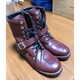 AVIRIEX  メンズ ブーツ ブラウン 25.5センチ(ブーツ)