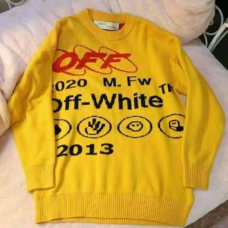 オフホワイト(OFF-WHITE)のOFF-WHITE ニット セーター(ニット/セーター)