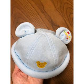 ミキハウス(mikihouse)のミキハウス ベビー帽子 46cm(帽子)