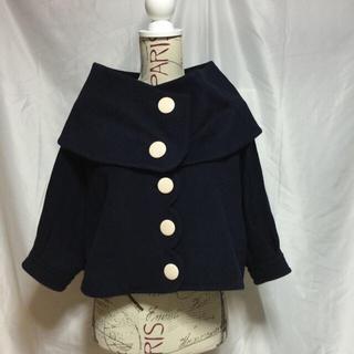 ドットアンドストライプスチャイルドウーマン(Dot&Stripes CHILDWOMAN)のDot&Stripesウールジャケット(ノーカラージャケット)
